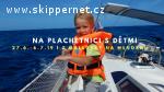 Letní plachtění z Mallorky na Menorku s dětmi