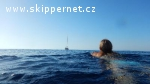 Letní plachtění z Menorky na Sardinii
